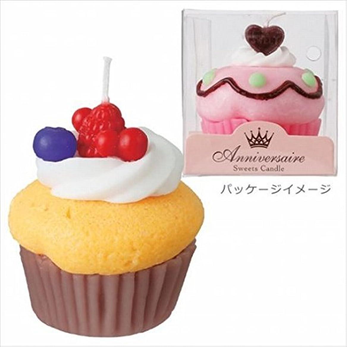 性的アンテナ符号カメヤマキャンドル( kameyama candle ) カップケーキキャンドル 「 マンゴーカップケーキ 」