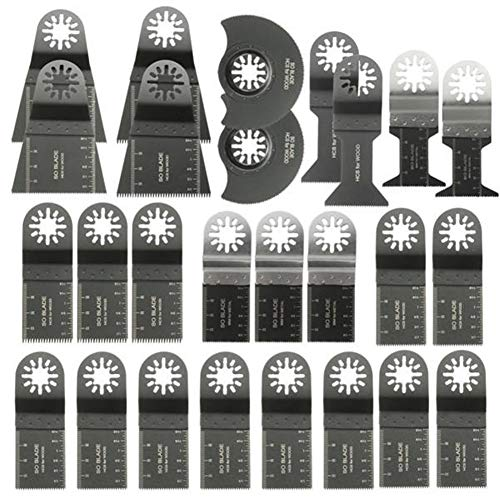 New Ctghgyiki 26pcs Mixed Blades Multitool Saw Blade Accessories for Fein Multimaster Bosch Makita O...