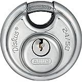 ABUS アバス ディスカス ステンレス錠 24IB 50mm 3本キー 24IB/50