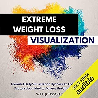 Extreme Weight Loss Visualization audiobook cover art
