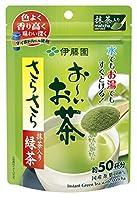 伊藤園 おーいお茶 抹茶入りさらさら緑茶 40g ×3セット