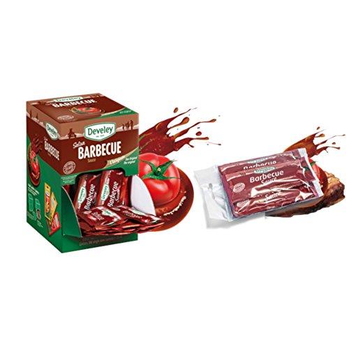 Monodose salsa barbecue 100 pezzi da 200ml Develey