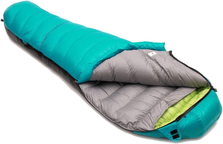 ZWYY Durable,ComfortableSchlaftasche, Adults Envelope Sleep Sack Portable Lightweight 4 4 4 Season Sleep Bags Outdoor Camping Hiking Warm Sleeping Pad,Grün,1800g B07P6LFJYS  Eleganter Stil 32d334