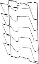 Pannendekselhouder, pot- en dekselhouder, deksel en pannen compacte pannendekselhouder van metaal, wand- en keukenkasten
