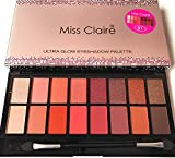Miss Claire Miss Claire Ultra Glow Eyeshadow Palette 1, Multi, 16 grams, Multicolor