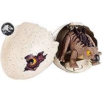 Jurassic World Dino-crías Stegosaurus, huevo de dinosaurio de juguete (Mattel GFN76)