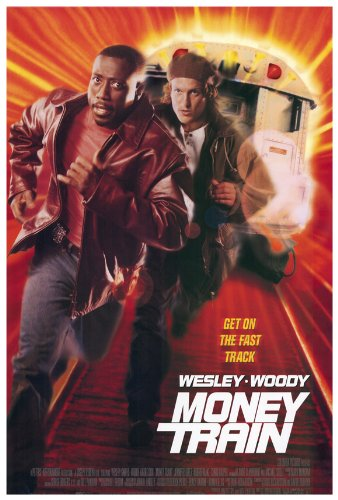 Money Train Movie Poster (27 x 40 Inches - 69cm x 102cm) (1995) Style B -(Woody Harrelson)(Wesley Snipes)(Jennifer Lopez)(Skipp (Robert L.) Sudduth)(Vincent Laresca)(Aida Turturro)