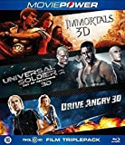 3D Action Collection ( Immortals / Universal Soldier: Day of Reckoning / Drive Angry ) (3D) [ Holländische Import ] (Blu-Ray)