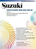 Suzuki Violin School, Vol 2: General MIDI Disk CD-ROM