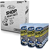 Scott Shop Towels Heavy Duty (32992), Blue Shop Towels for Solvents & Heavy-Duty Jobs, 60 Sheets / Roll, ( Pack Of 12 Rolls )