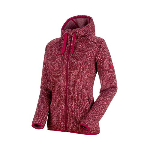 Mammut Damen Chamuera Fleece-Jacke, Dark Beet, XL
