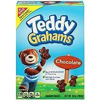 Teddy Graham Graham Snacks _Chocolate 10oz テディグラハム グラハムスナックス チョコレート味 283g [並行輸入品]