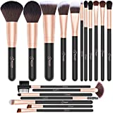 Best Makeup Brushes Sets - BESTOPE 18 Pcs Makeup Brushes Premium Synthetic Fan Review