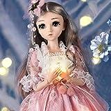 talogca 18-Zoll-Prinzessin Puppe, Realistische Zarte Prinzessin Puppe, 26 Gelenke, Die Sich Bewegen...
