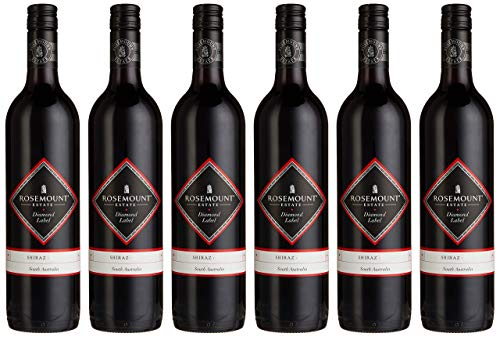 Rosemount Estate Shiraz Diamond Label 2019 Australien Wein (6 x 0.75 l)