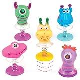 Baker Ross Springende Monster-Wackelköpfe - Spielzeug für Kinder als Mitgebsel und Preis beim...