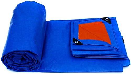 AINIYF Baches imperméables de 12,6 mil de Pluie épaisse Couvre Les Toiles de Camping Bleues - Parfait pour la randonnée, Le Camping, l'abri, l'ombre, la Couverture du Sol (Taille   12x8m)