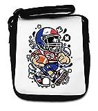 France Football Kid American Football Player Small Shoulder Bag