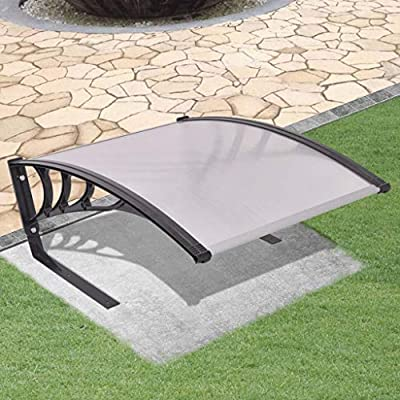 """Unfade Memory Lawn Mower Awning Canopy Garage Roof, Shade Rain Protection Tool Sun Shelte 30""""x41""""x18"""""""