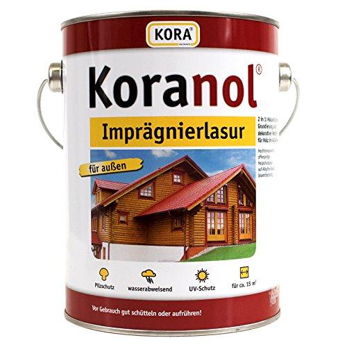 Koranol Imprägnierlasur Aussenlasur Holzschutzlasur Eiche Hell 5L