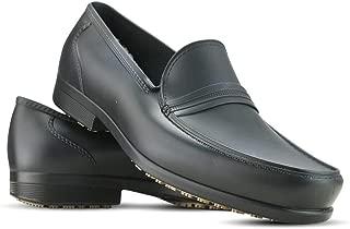 Men's Slip Resistant Waterproof Uniform Dress Shoes