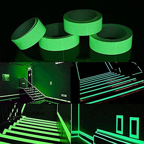 AHURGND 5 metros Familia Luminosa Strip, Etiqueta de Pared Pegatina extraíble Calcomanías Arte, Fondo de pantalla Fluorescente, Fondo de pantalla Fluorescente autoadhesivo, Para Party Party Boda Decor