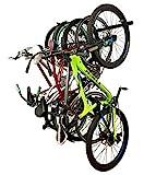 StoreYourBoard Bike Storage Rack, Holds 5 Bicycles, Home and Garage Organizer, Adjustable Wall Hanger Mount