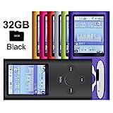 G.G.Martinsen Black Versatile MP3/MP4 Player, Support Photo Viewer, Mini USB Port 1.8 LCD, Digital MP3 Player, MP4 Player, Video/Media/Music Player