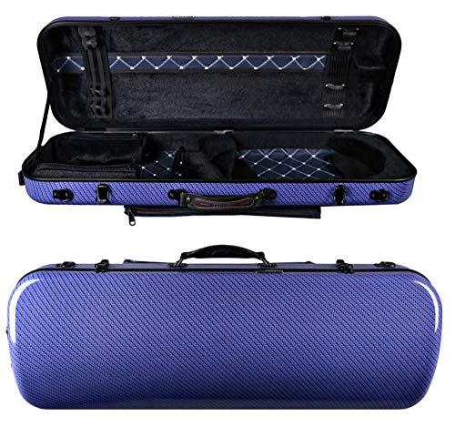 Originale Tonareli Custodia per viola rettangolare 36-43 cm BLUE CHECKERED VAFO1005 EDIZIONE SPECIALE – VENDITORE AUTORIZZATO