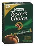 Nescafe Taster's Choice Coffee Instant Gourmet Sticks Decaffeinated, 20-Count Packages (Pack of 8)