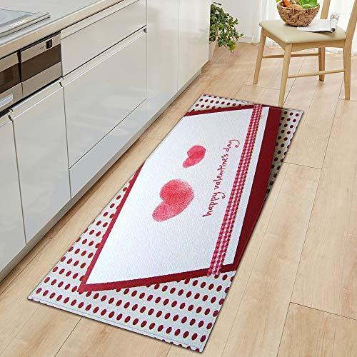 HLXX Alfombrilla Antideslizante para Cocina, Alfombrilla para Puerta de casa para Dormitorio, baño, impresión 3D, decoración del Suelo para el hogar, Alfombra para Sala de Estar, A4 40x60cm