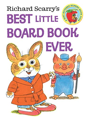 Richard Scarry's Best Little Board Book Ever (English Edition)