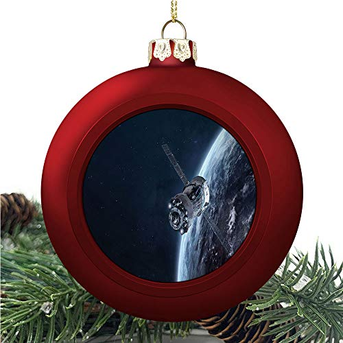 aosup Spaceship in The/Christmas Ball Ornaments 2020 Christmas Pendant Personalized Creative Christmas Decorative Hanging Ornaments Christmas Tree Ornament №SW183993