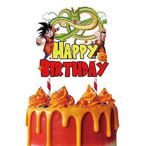 Dragon Ball Z Birthday Cake Topper