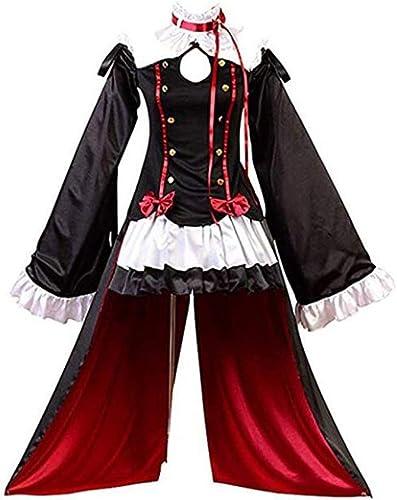 Centro comercial profesional integrado en línea. Kimono Anime Lolita Vestido Vestido Vestido de mujer Vampiros Krul Tepes Cosplay Disfraces (Talla   M)  barato en línea
