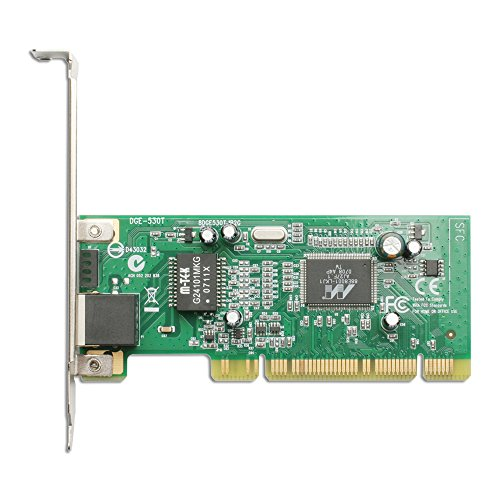 D-Link PCI Gigabit Fast Ethernet Network Adapter Card 10/100/1000 Desktop PC (DGE-530T)