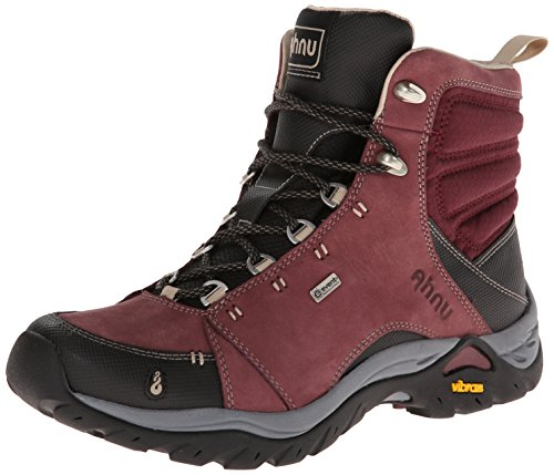 Ahnu Women's Montara Hiking Boot,Red Mahogany,8 M US