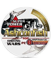 Ashconfish PEライン 8編 (150m 200m 300m 500m 1000m)(1号 1.2号 1.5号 2号 2.5号 3号 3.5号 4号 5号 6号 7号 8号 9号 10号)