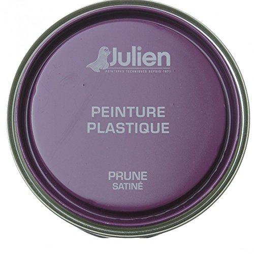 JULIEN PEINTURE PLASTIQUE 0.5L PRUNE
