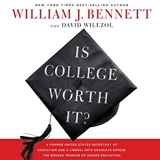 Is College Worth It? audiobook cover art