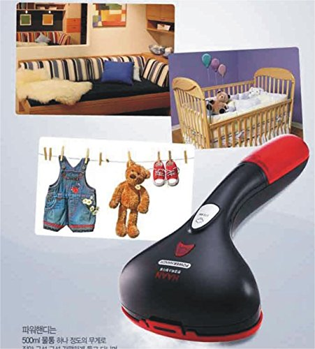 HAAN Portable Travel Steamer Iron HI-400BL Handheld Garment/Black