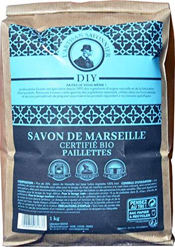 Artisan Savonnier - Copeaux de savon de Marseille certifié BIO - Paillettes