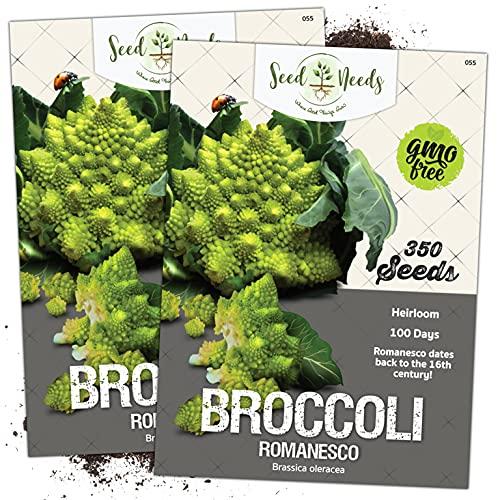 Seed Needs, Romanesco Broccoli (Brassica oleracea)...