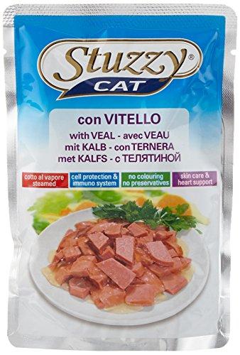 Stuzzy kattenvoer kalf portiezak 100 g, verpakking van 24 (24 x 100 g)