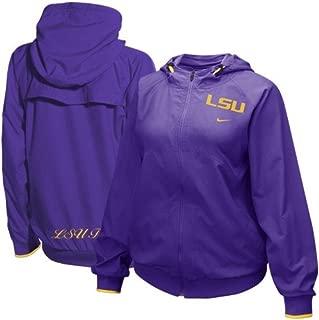 NIKE LSU Tigers Women's Early Riser Full-Zip Jacket