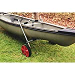 """Onefeng Sports Airless End Kayak Cart, Canoe Carrier Trolley Adjustable Kayak Trolley Suit for Extra Large 24inch Width… 16 ►【Suit for Extra Large Kayak】 Kayak cart is suitable for kayaks up to 24 inches wide.The height of kayak cart can be adjusted from 9.8"""" to 17.7"""", and each gear can be adjusted to 2"""".The width of our canoe cart can be adjusted from 20"""" to 24"""".So whatever your. So no matter what size you are, you can adjust your kayak cart. ►【Capacity】 Generous 150lb carrying capacity allows you to easily transport your kayak / canoe;solid aluminium frame,and rubber protectors on each arm to protect your canoe / kayak hull; Rubber bumpers of the foot protect the frame from wearing. ►【New Plastic Wheels】 Wheels are environment-friendly,odourless tasteless.Size:25×7cm(9.8""""×2.7"""") plastic tires with rubber sheaths.Spring button, easy assembly."""