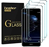 ivoler [3 Unidades] Protector de Pantalla para Huawei P10 Lite, Cristal Vidrio Templado Premium