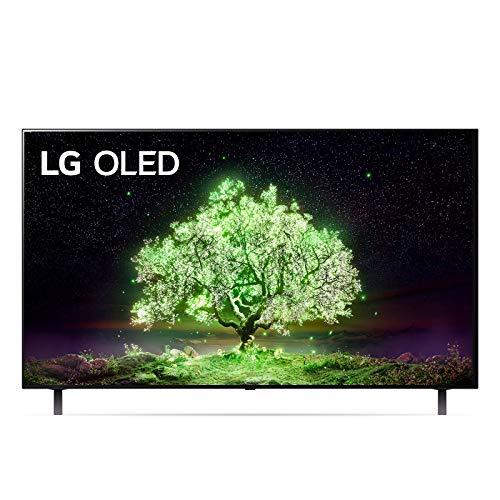 LG OLED55A16LA Smart TV 4K 55', TV OLED Serie A1 2021, Processore α7 Gen4, Dolby Vision IQ, Wi-Fi, webOS 6.0, FILMMAKER MODE, Game Optimizer, Google Assistant e Alexa Integrati, Telecomando Puntatore