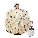 EEUK Sauna SPA Tent, 2.5L Portable Steam Sauna SPA Full Body with Remote Control, Folding Home Detox Sauna Room Weight Loss Body Slim Bath