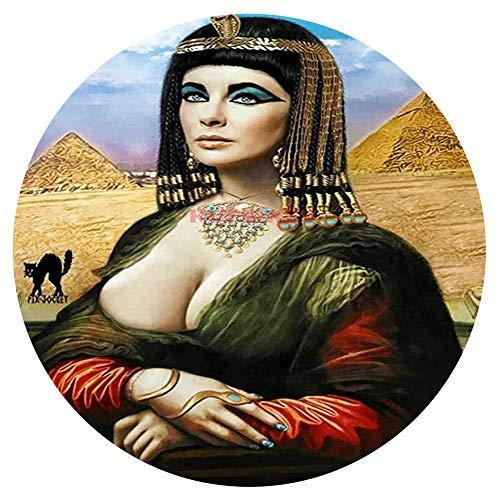 Puzzles 1000 Piezas Adultos Egipcios Mujer Niños Puzzle Puzzle Circular